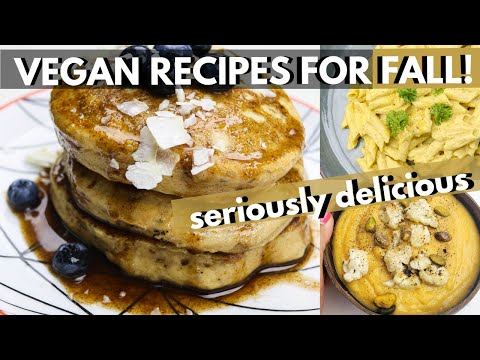 COZY VEGAN RECIPES FOR FALL (HEALTHY & SO COMFORTING) + MINI VEGAN GROCERY HAUL