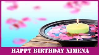 Ximena   Birthday Spa - Happy Birthday