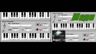 Pa' la Gilada El Empuje Ft Metaguacha -Piano