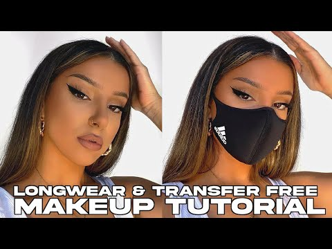 LONG LASTING & TRANSFER-PROOF MAKEUP TUTORIAL (perfect for masks)
