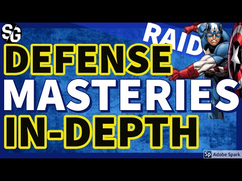 [RAID SHADOW LEGENDS] DEFENSE MASTERIES IN DEPTH