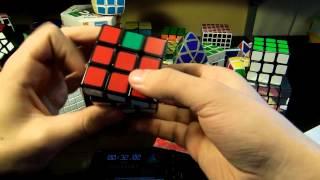 Slow motion CFOP solves [Muse - Please Please Please, Let Me Get What I Want]