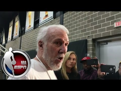 Gregg Popovich on Kawhi Leonard: 'I'll be surprised if he returns this season' | ESPN