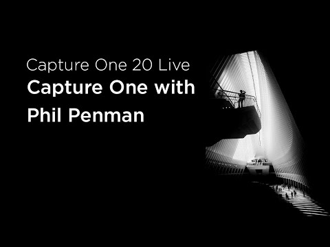 Capture One 20 Live : Talks | Capture One with Phil Penman