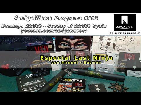 AmigaWave #182 - Especial Last Ninja y review CoffinOS R55.