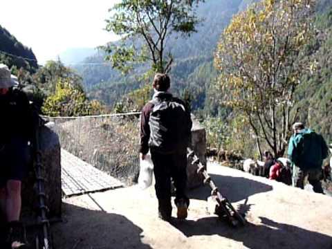 Everest Region Suspension Bridge