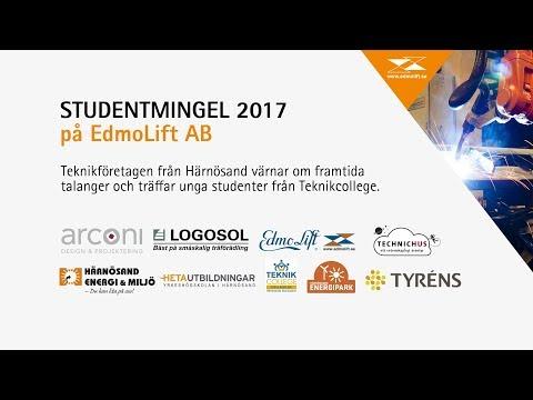 Studentmingel på EdmoLift AB