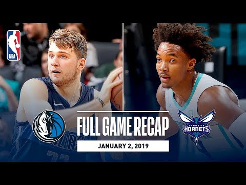 Full Game Recap: Mavericks vs Hornets | Luka Leads Dallas