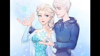 Elsa y jack frost by JELSA Mi niña bonita Chino y Nacho
