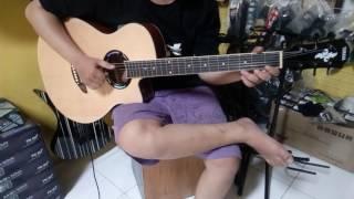 Martmusik Depok sample Gitar yamaha apx akustik elektrik