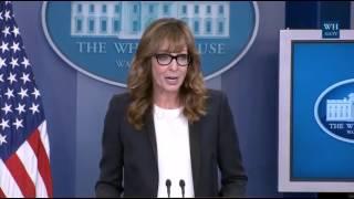 CJ Cregg Returns To White House Briefing Room