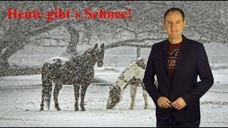 Achtung: Heute gibt´s Schnee und Glätte! Bleibt es kalt? (Mod.: Dominik Jung)