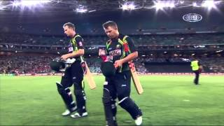 1st T20 AUS v SL - Match Wrap