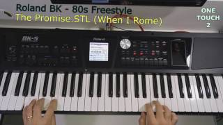 Roland BK5 - Demo Style 80s: When in Rome - The Promise (Cover)