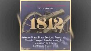 1812 Overture (Tchaikovsky, Fanfare Finale) Aeternus Brass, Timpani, Syntheway Strings VST Win Mac