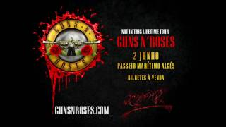 Guns N' Roses em Portugal - Bilhetes já à venda!