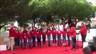"""2016 - """"Rodolfo era uma rena"""" - Coro Juvenil de São Pedro do Mar, Quarteira."""
