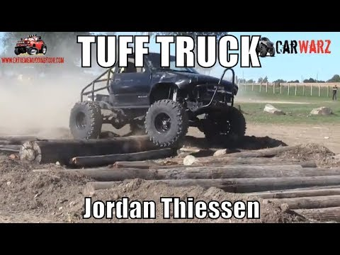 Jordan Thiessen 2000 Chevy Second Round Modified Class Minto Tuff Truck Challenge 2018