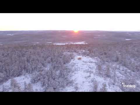 Dronevideo fra Gjevlekollen