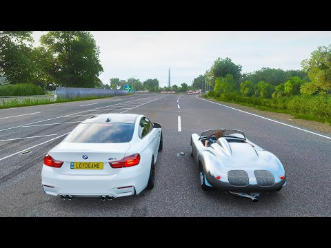 RAIZ VS NUTELLA   1960 Porsche 718 RS 60 VS BMW M4 Coupe   Forza Horizon 4