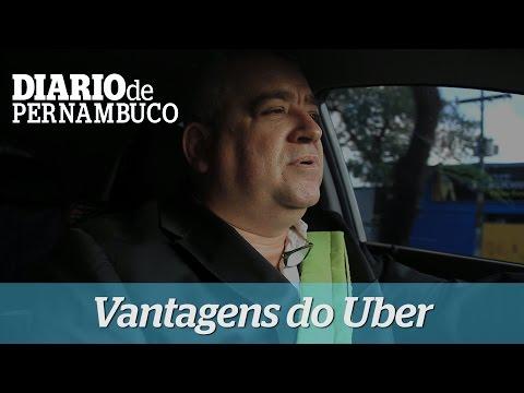 Motorista do Uber faz balan�o positivo do aplicativo