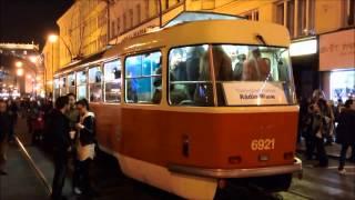 Praha - party v tramvaji