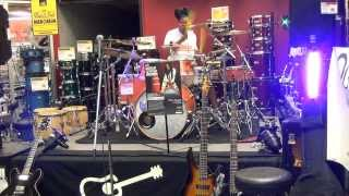 MzDrummer Drum Clinic at Guitar Center