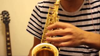 Somewhere (West Side Story) soprano saxophone cover