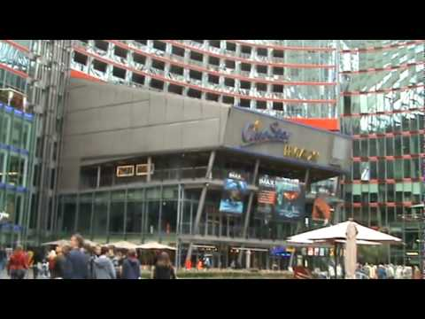 Berlino - Potsdamer Platz - Sony Center 3 - Germania