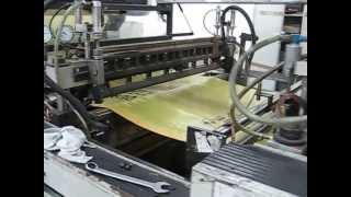 Produktion der Gelben Säcke