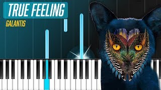 "Galantis - ""True Feeling"" Piano Tutorial - Chords - How To Play - Cover"