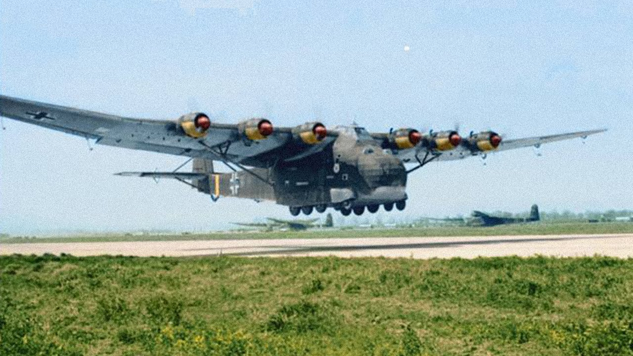 Messerschmitt Me 323 - The Largest Land Based Transport Aircraft of WW2