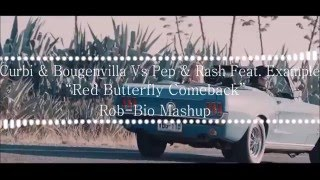 Curbi & Bougenvilla Vs Pep & Rash Feat. Example - Red Butterfly Efect (Rob-Bio Mashup)