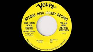 King Davis House Rockers - We All Make Mistakes Sometimes [Verve] 1967 Deep Soul 45