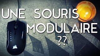 Vidéo-Test : TEST ET REVIEW D'UNE SOURIS MODULAIRE ! - Corsair Glaive [Review]