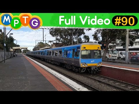 Melbourne's Metro & V/Line trains at Carnegie Station (Full Video #90)