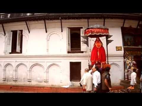 Monkey God at Kathmandu Darbar square