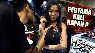 LAGI TENTANG SEKS AUTO DOYAN   Tanya SPG Vape Fair 2019 Jakarta   Eksperimen Sosial #3   Weekendtime