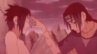 Itachi Uchiha vs Sasuke Uchiha - Itachi's Death - English Sub - HD