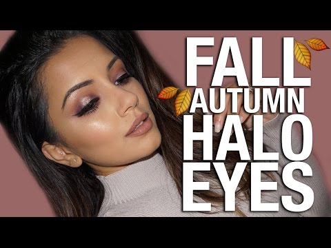 Autumn/Fall Makeup Tutorial 2016 | Warm Halo Eyes