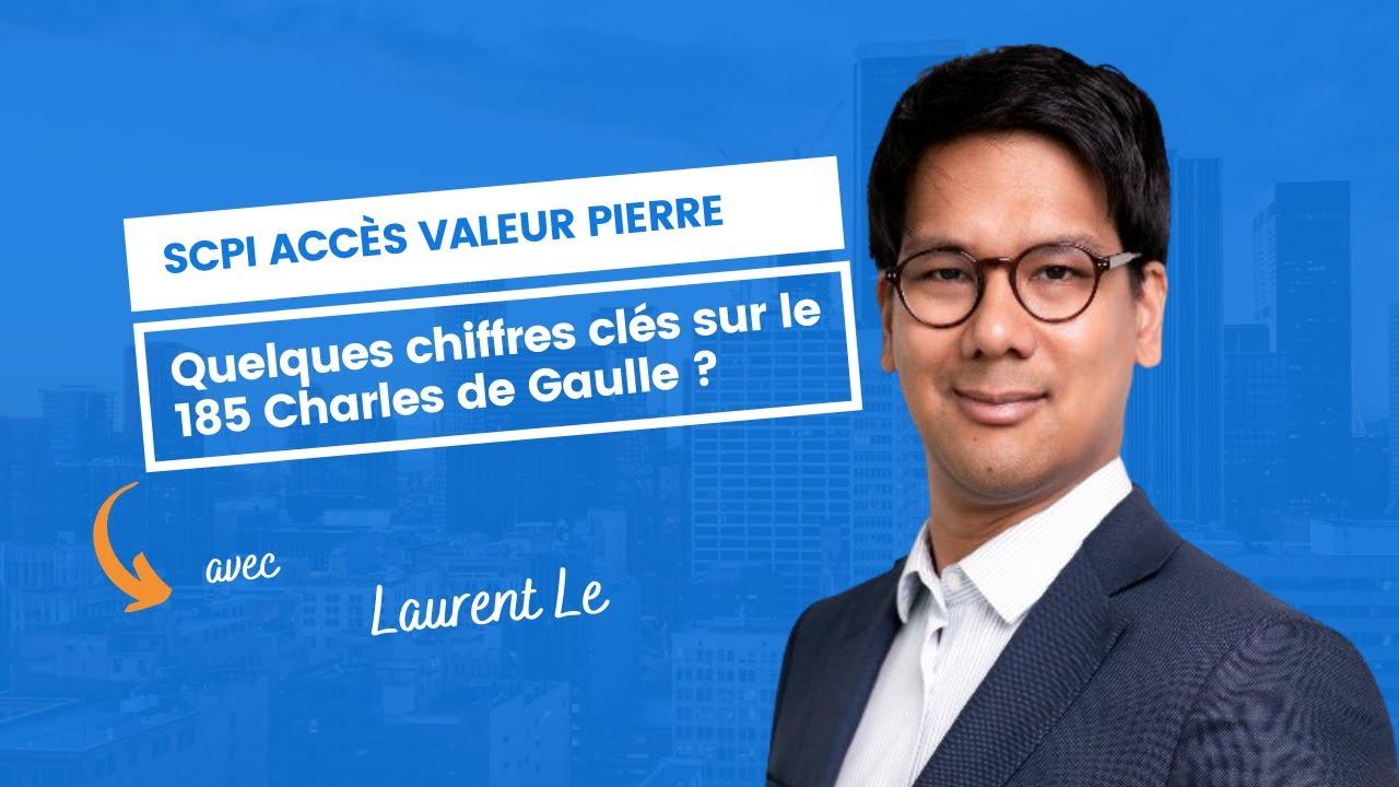Quelques chiffres clés sur le 185 Charles de Gaulle ?