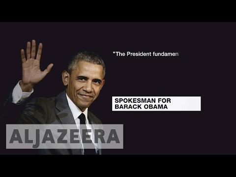 Obama speaks out against Trump's Muslim ban