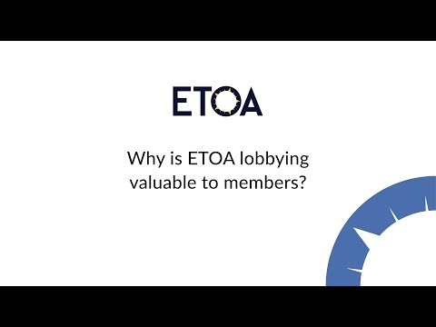 Why is ETOA lobbying valuable to members?