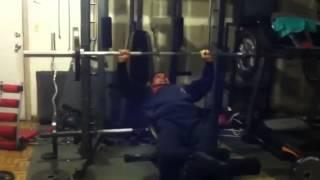 Teen bodybuilding intro: push day