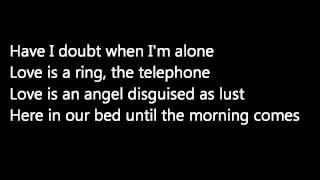 Patti Smith 'Because the Night' lyrics