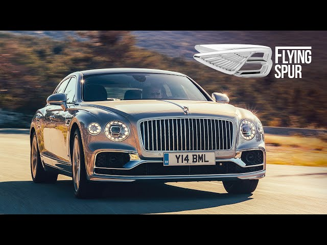 NEW Bentley Flying Spur: Road Review | Carfection 4K