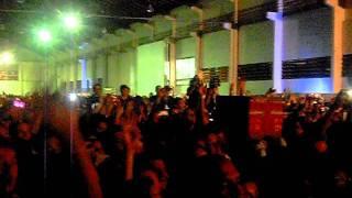 Show Fernandinho. 11.02.12 Marumby expocenter. Momentos antes do cantor entrar no palco.