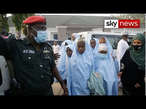 Kidnapped Nigerian schoolgirls were beaten with canes and guns