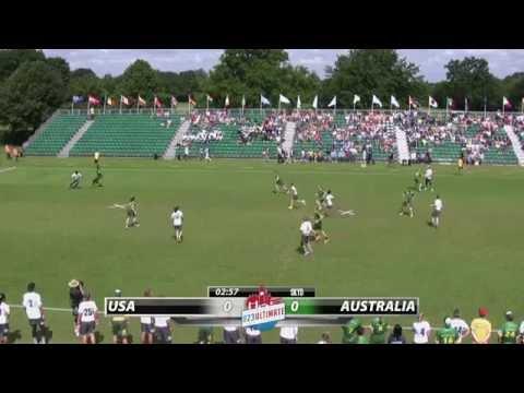 Video Thumbnail: 2015 World U-23 Championships, Mixed Gold Medal Game: USA vs. Australia