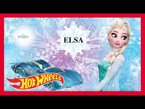 Anna & Elsa's FROZEN Winter Wonderland with Hot Wheels! | Hot Wheels